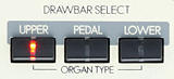 DRAWBAR SELECT