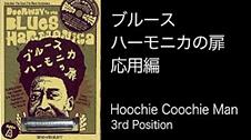 """「ブルースハーモニカの扉」""""応用編"""" Hoochie Coochie Man 3rd Position"""