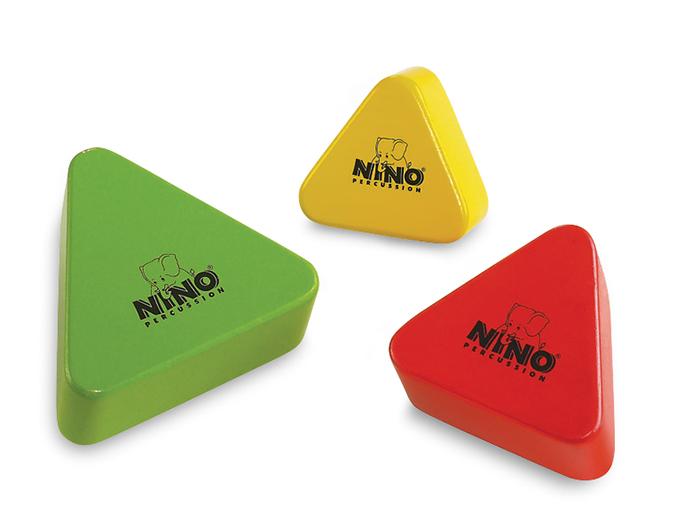 ニノ ウッドシェイカー(三角型セット) NINO508-MC
