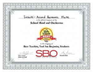award certification 2020