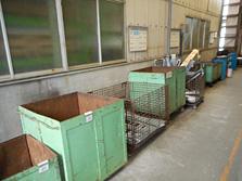 廃材を材料毎に分別しリサイクルへ