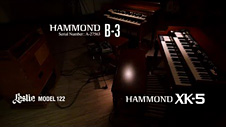 HAMMOND B-3 & XK-5 performed by Daisuke Kawai