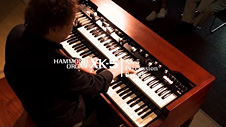 HAMMOND XK-5 Percussion & Reverb