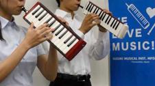 鍵盤ハーモニカ メロディオンアンサンブル(バスB-24C・ソプラノS-32C)