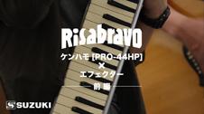 Risabravo ケンハモ[PRO-44HP]×エフェクター -前編-