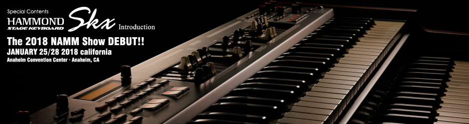 HAMMOND STAGE KEYBOARD SKX Introduction