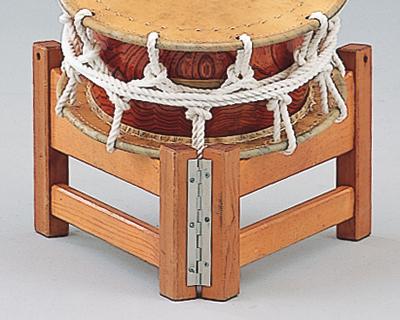 平太鼓用開き型座奏台