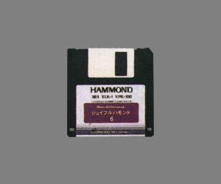 XE-1用データディスク <br>ジョイフルハモンド6