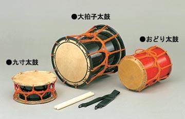 おどり太鼓 (目有合板胴)