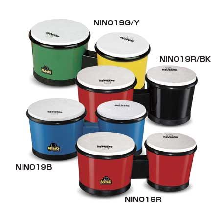 ニノ ABSドラム ボンゴ NINO19R/BK