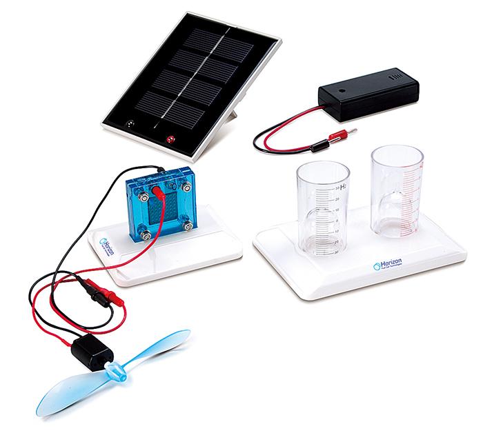 燃料電池実験セット <br>ソーラーハイドロゲン FCJJ-16